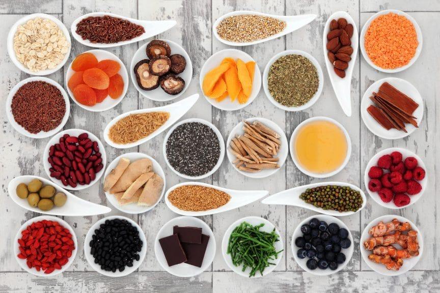 liste complète des super aliments